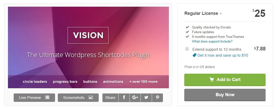 vision-wordpress-shrtcode-plugin