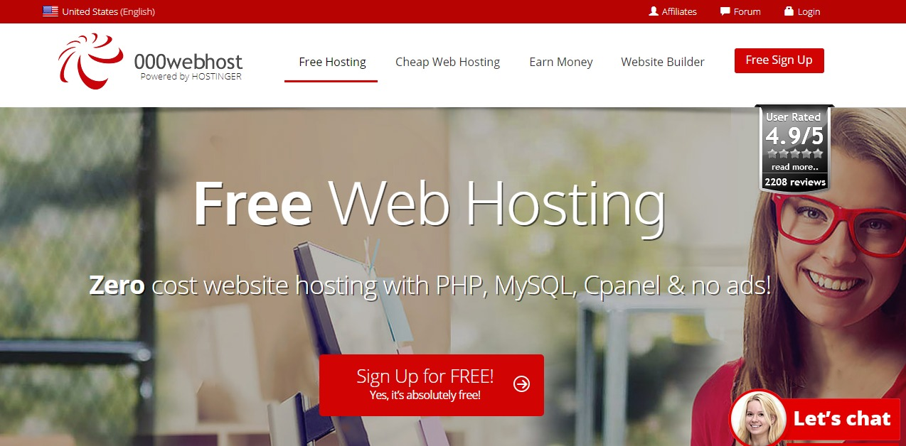 000webhost-free-wordpress-hosting-services