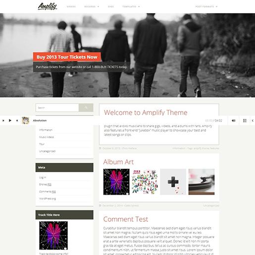 Amplify-WordPress-theme
