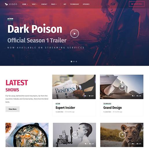 Viseo-WordPress-Podcast-theme