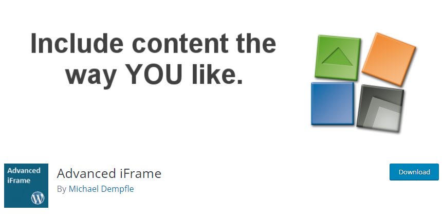 WordPress-Iframe-plugin-Advanced-iFrame