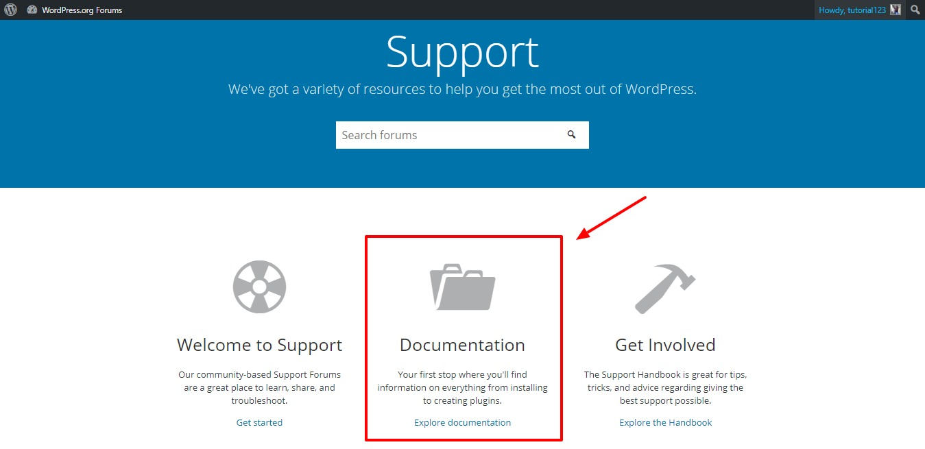 WordPress-org-documentation