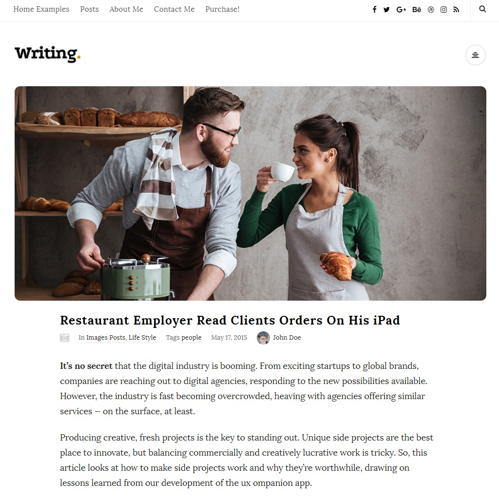 15+ Best WordPress Themes for writers and authors! (Free+