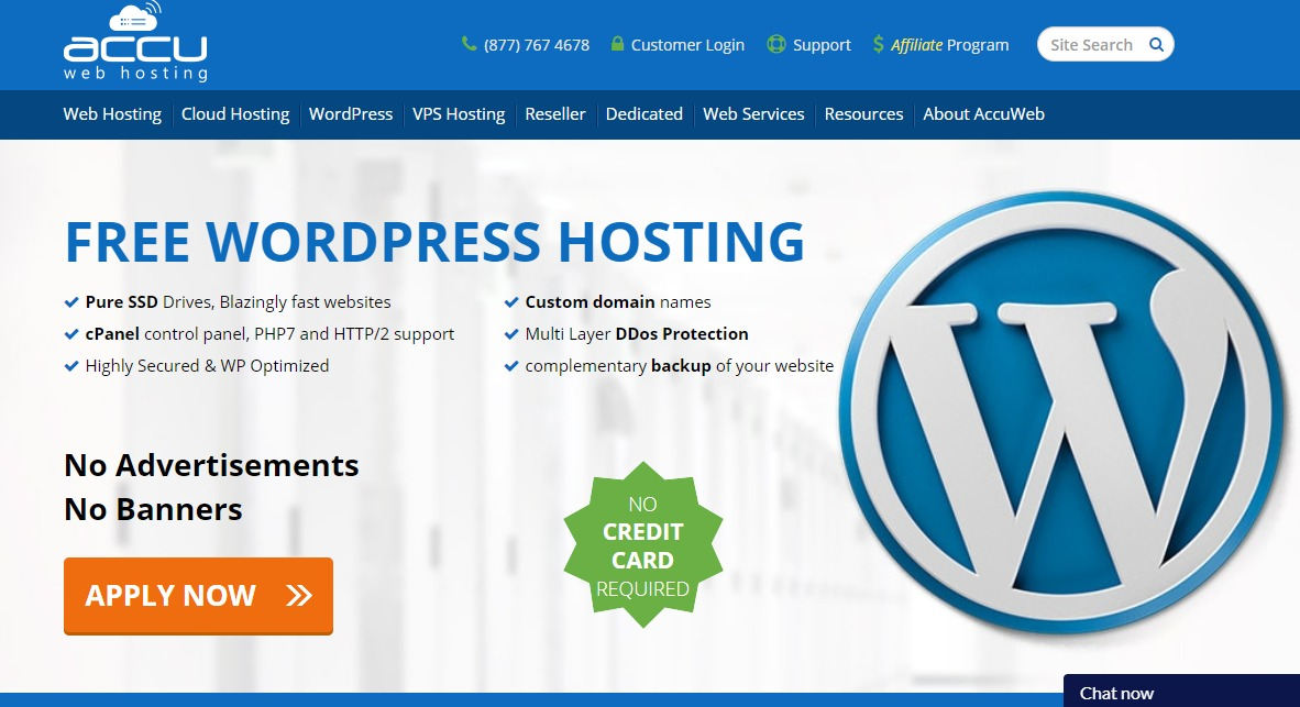 website hosting wordpress