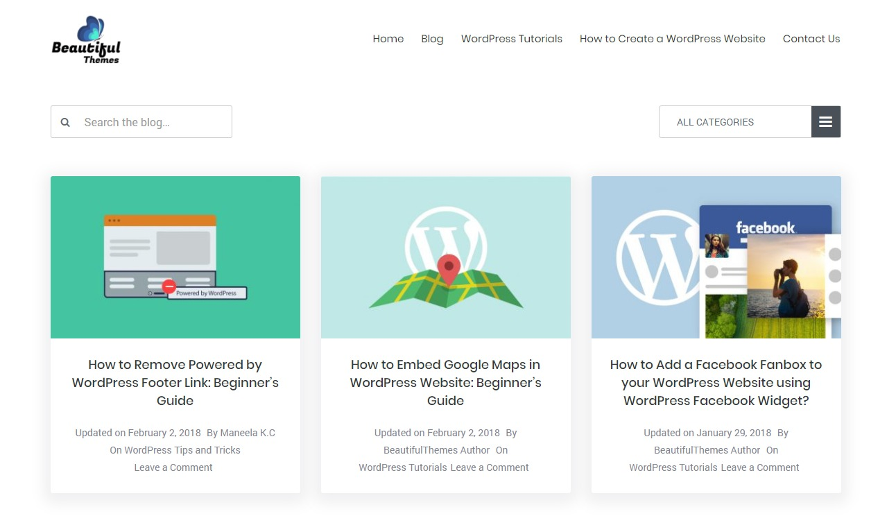 beautiful-themes-wordpress-support