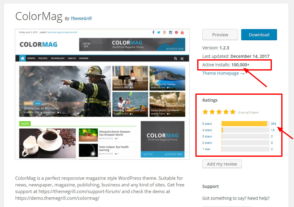 colormag-wp-theme-page-wordpress-org