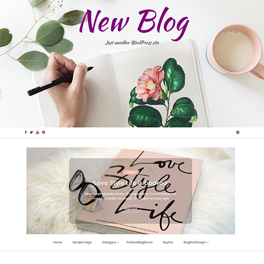 new-blog-free-wordpress-theme-for-writers