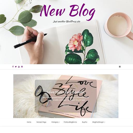 new-blog-free-wordpress-theme-for-writers