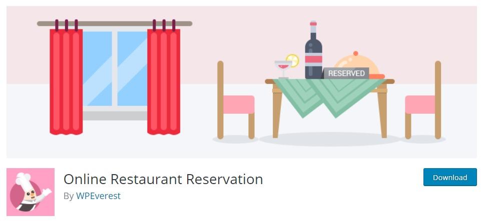 online-restaurant-reservation-plugin-wordpress-plugin