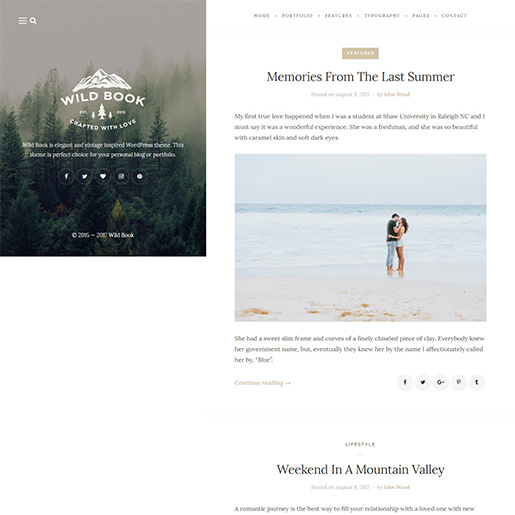 wildbook-wordpress-themes-for-writers