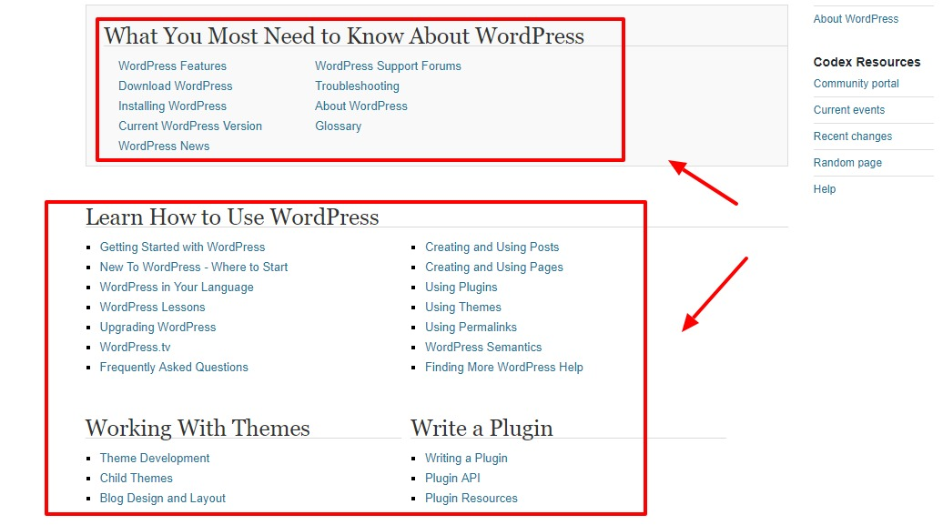wordpress-documentation]