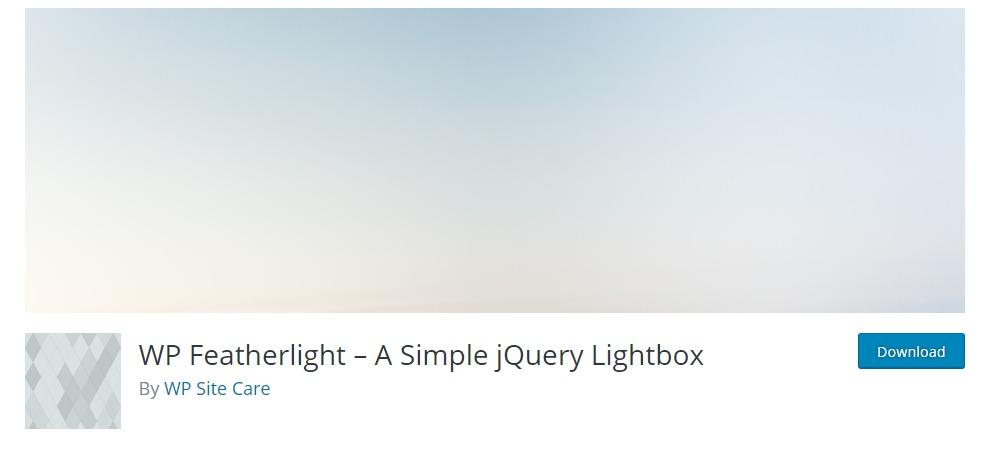 wp-featherlight-lightbox-wordpress-plugin
