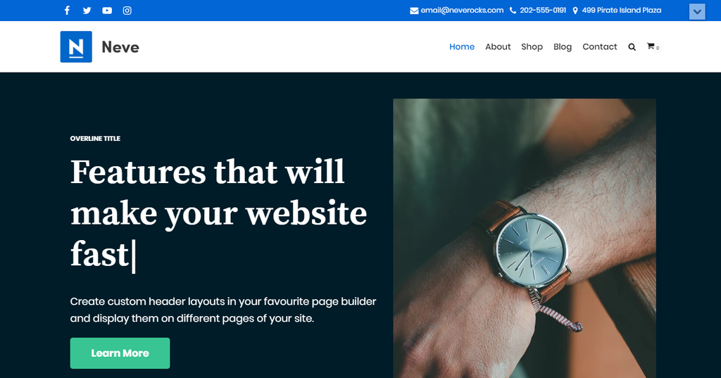 Neve Fastest WordPress Theme