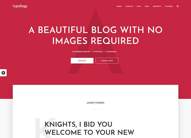 Typology–A-beautiful-blog-theme-fast-loading-theme