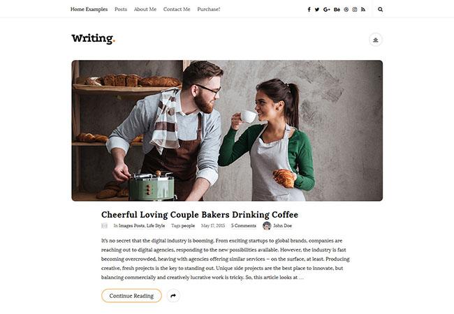 Writing-fastest-wordpress-theme