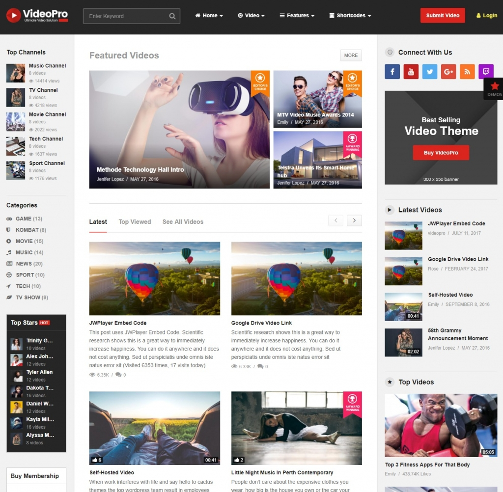 video-pro-wordpress-video-theme
