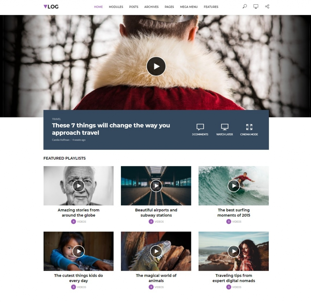 vlog-wordpress-video-theme