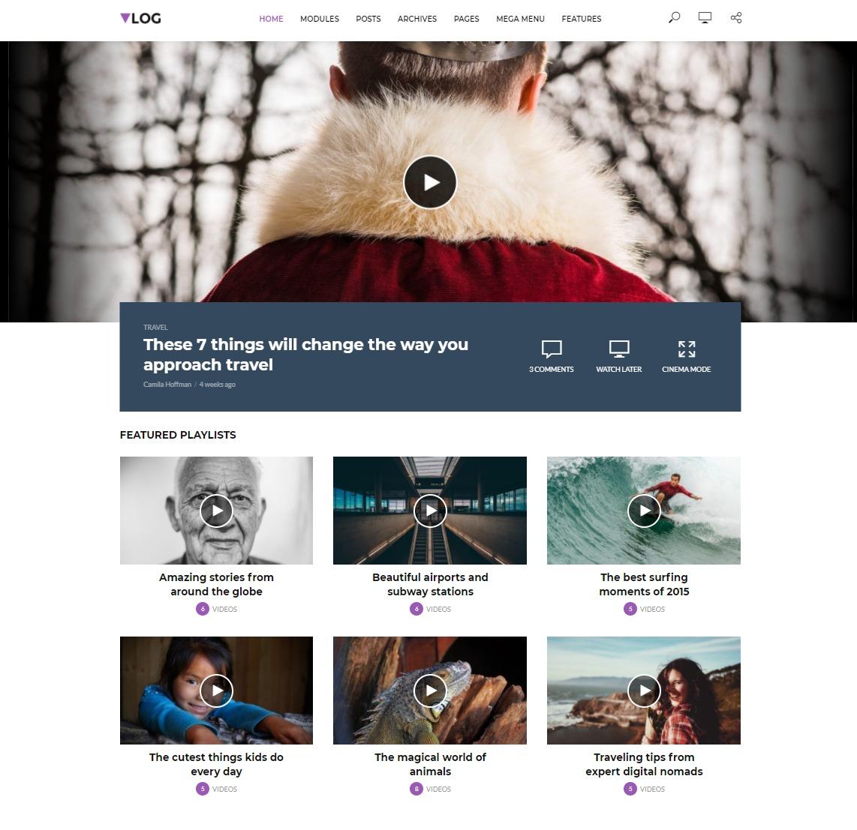 12 Stunning WordPress Video Themes & Templates for 2019