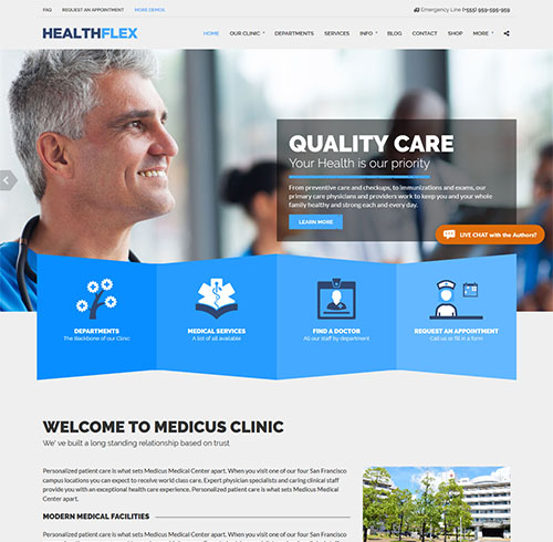 HEALTHFLEX-wordpress-medical-theme