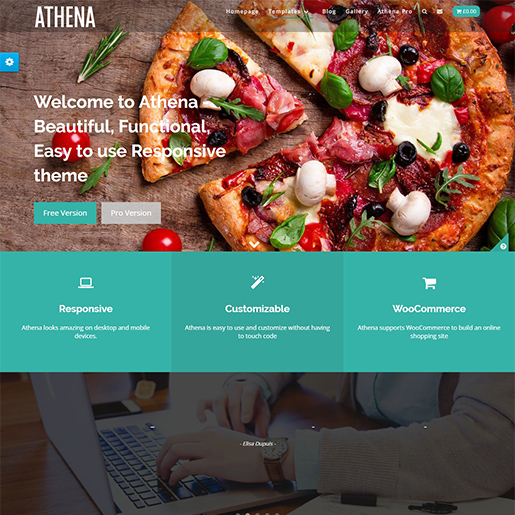 Athena Free WordPress Theme