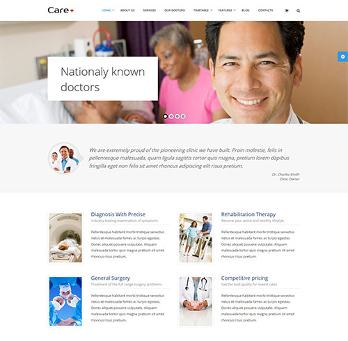 care-wp-medical-theme