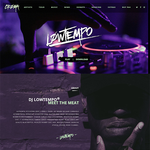 croma-wordpress-music-theme