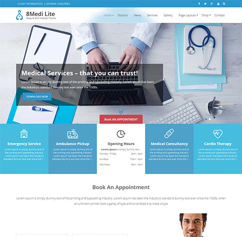 eightmedi-lite-free-wordpress-medical-theme