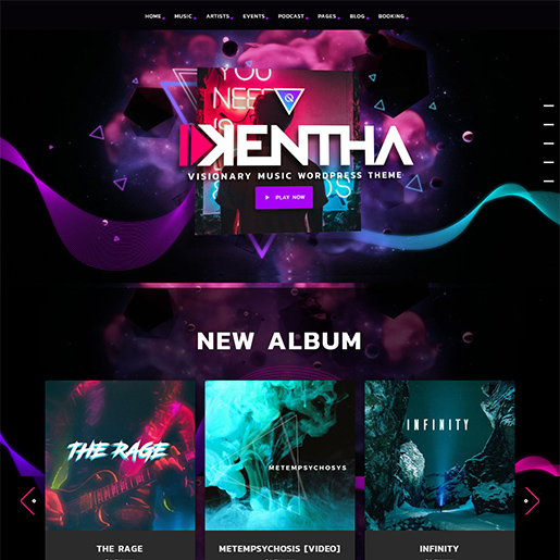 kentha-wordpress-music-theme