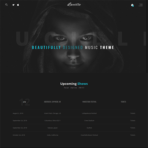 lucille-wordpress-music-theme