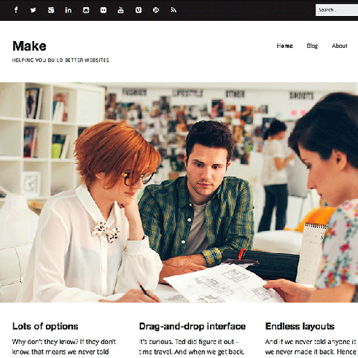 make-free-wordpress-theme