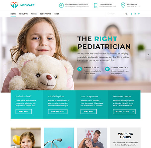medicare-wordpress-medical-theme