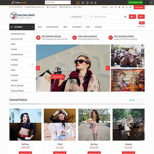 75 Best Free Responsive Wordpress Themes 2019 Themegrill