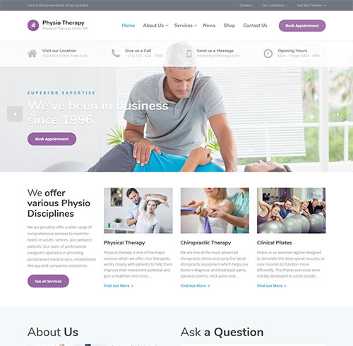 physio-wordpress-physical-therapy-theme
