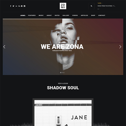 zona-wordpress-music-theme