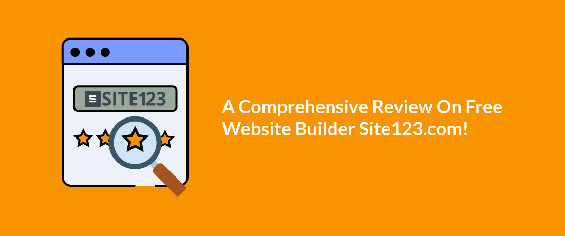 A Comprehensive Review on Site123: Best Free Website Builder?- ThemeGrill