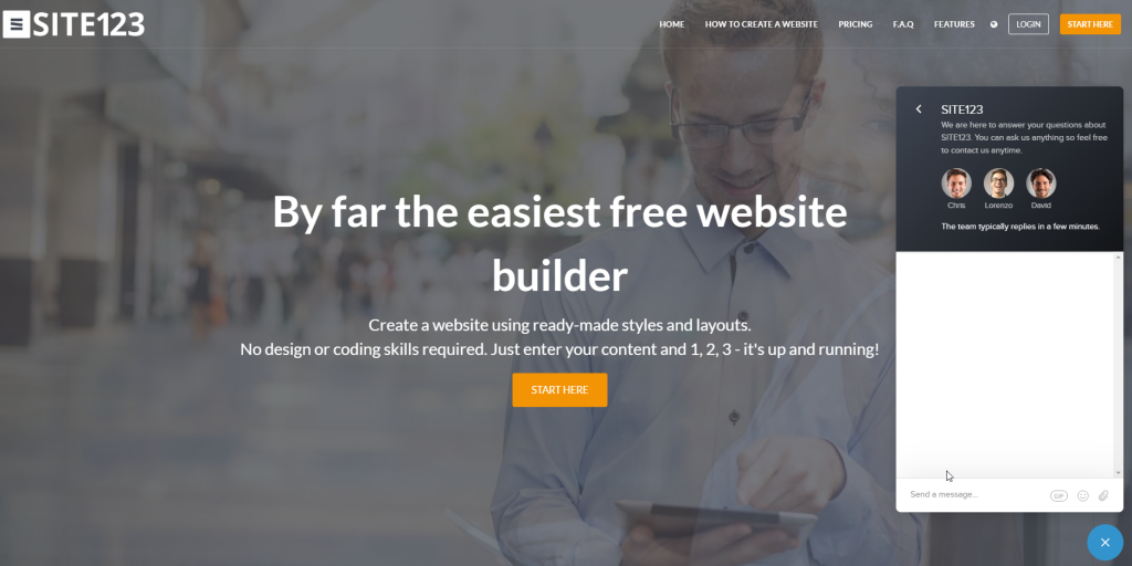 site123-website-builder-customer-support