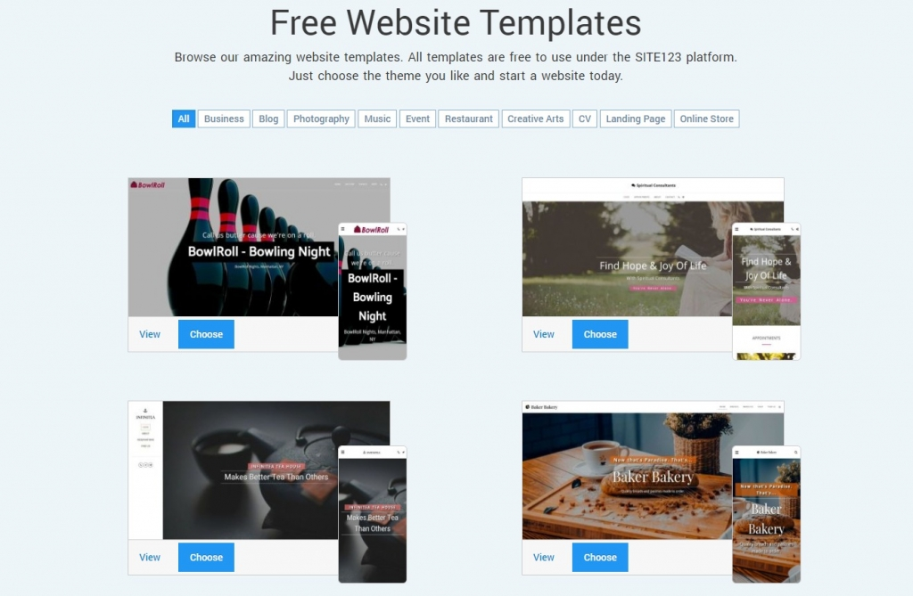 theme-market-website-builder-site123