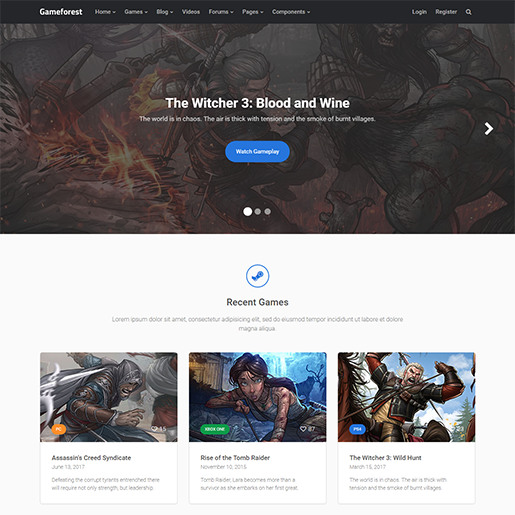 WordPress-Gaming-Themes-Gameforest