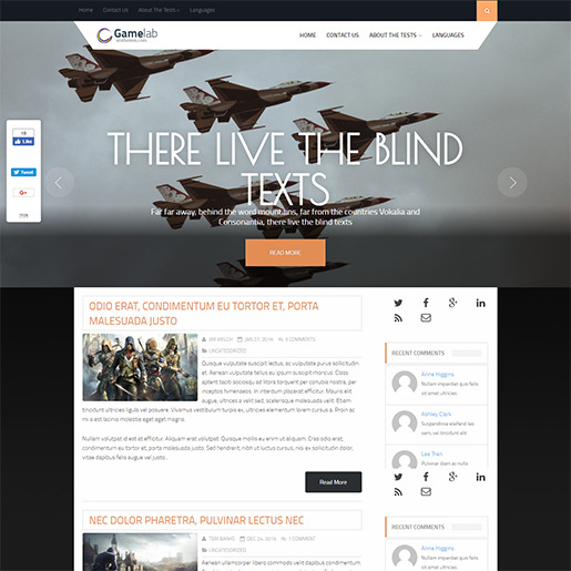 WordPress-Gaming-Themes-Gamelab