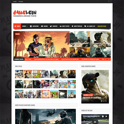 WordPress-Gaming-Themes-Gameleon