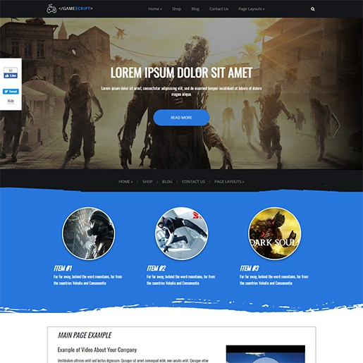 WordPress-Gaming-Themes-Gamescript