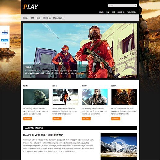 WordPress-Gaming-Themes-Play