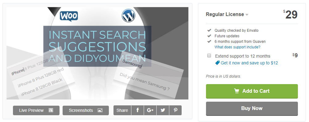 Live Search and Smart Autocomplete for WordPress-WordPress Search Plugin