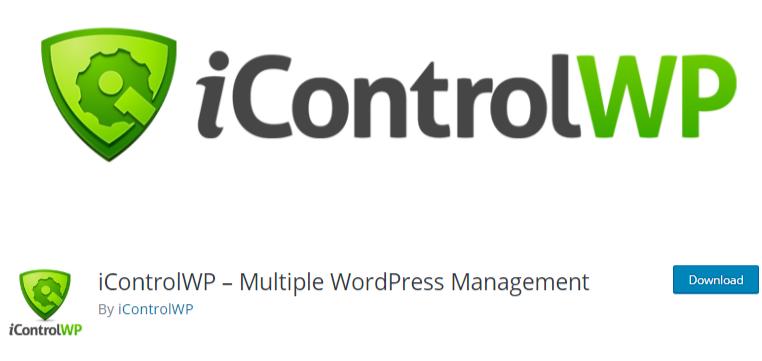manage multiple WordPress sites Plugin icontrolWp