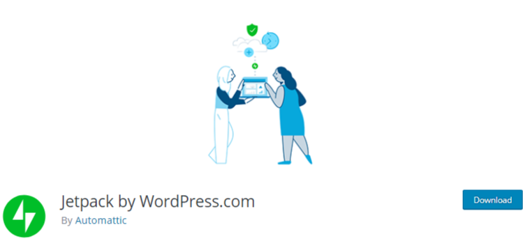 manage multiple WordPress sites Plugin jetpack