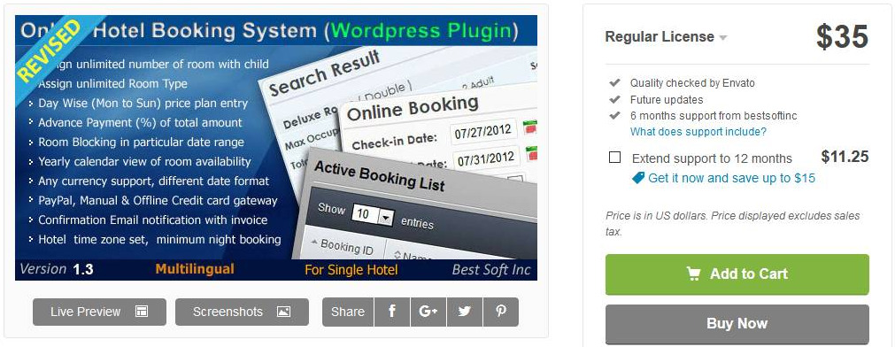 online hotelboekingssysteem