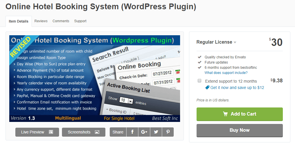 Online Booking System-Booking Plugins