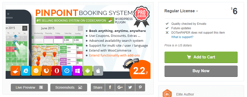PinPoint Booking System Pro-WordPress Booking Plugins