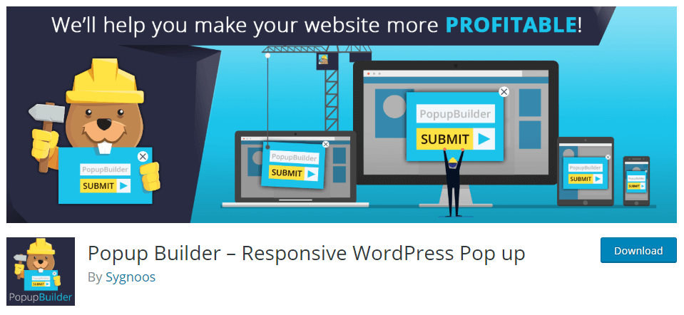 Popup Builder-WordPress Popup Plugin