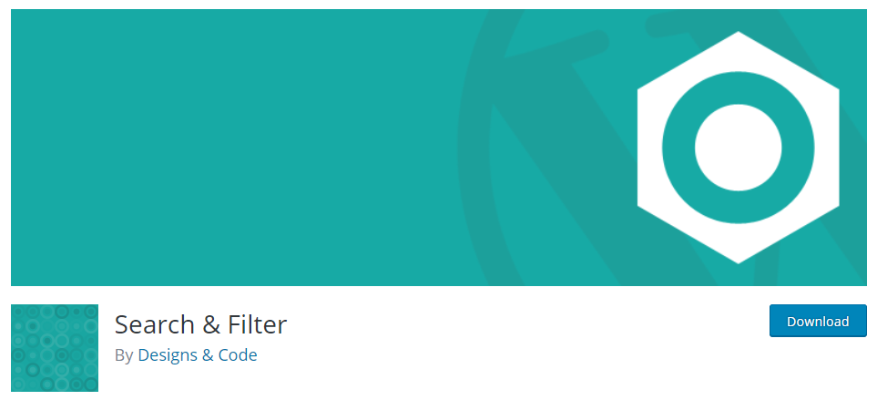 Search and Filter-WordPress Search Plugin